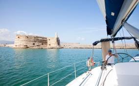 From Heraklion: Morning Sailing trip to Dia Island