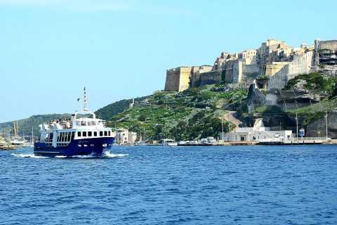 From Ajaccio or Porticcio: Full-Day Boat Tour to Bonifacio