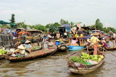 Mekong Delta: 3-Day 2-Night with Phnom Penh Exit, Cambodia