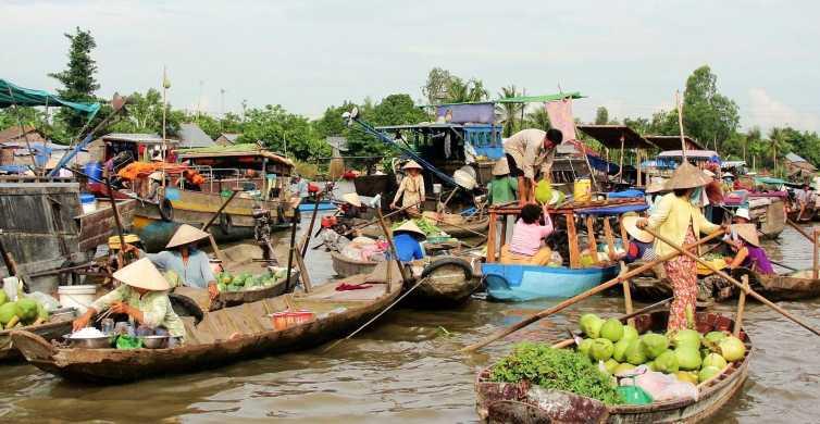 Delta del Mekong: tour di 3 giorni con termine a Phnom Penh