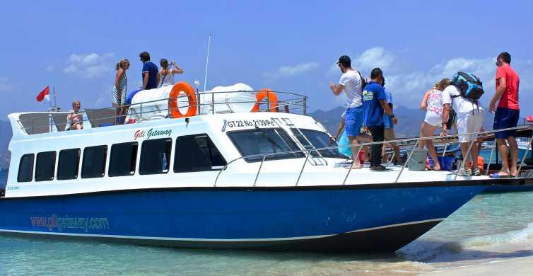 Fast Boat Transfers between Bali and Gili Trawangan