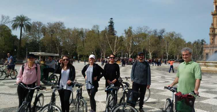Seville: 2.5-Hour Private Sightseeing Guided Bike Tour