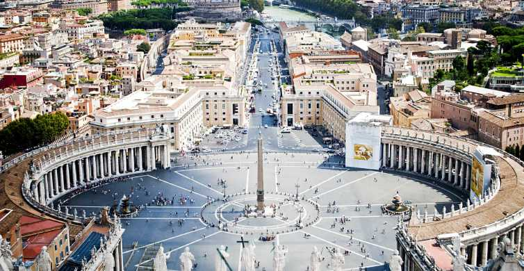 Fiumicino Airport: Shuttle Bus to/from Vatican City