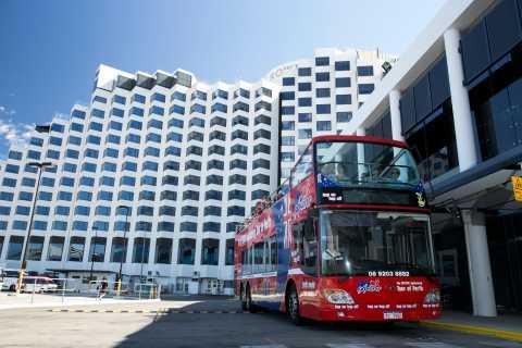 Perth: Triple Tour Hop-on Hop-off, River Cruise & Tram