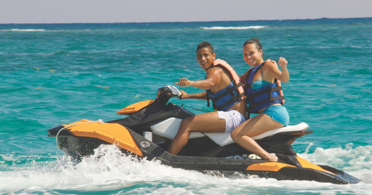 From Cancun And Riviera Maya Atv And Jet Ski Adventure Playa Del Carmen Mexico Getyourguide