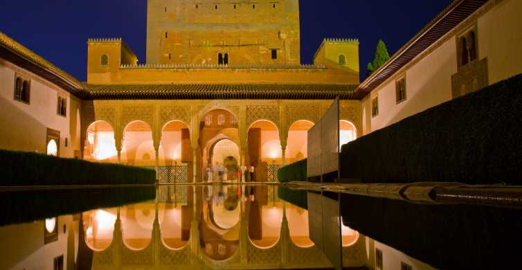 The Alhambra Nasrid Palaces: 1.5-Hour Night Tour
