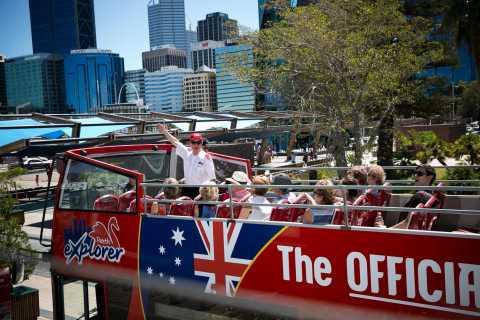 Hop-on-Hop-off-Bustour durch Perth mit Eintrittskarte für den Glockenturm
