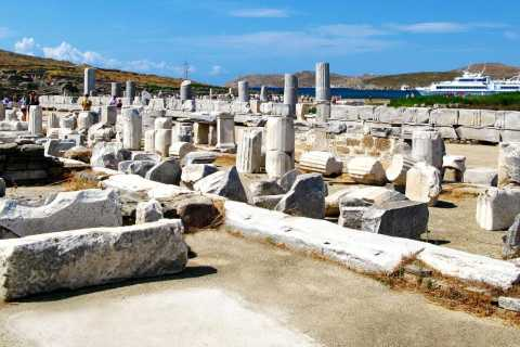 The Original Morning Delos Guided Tour