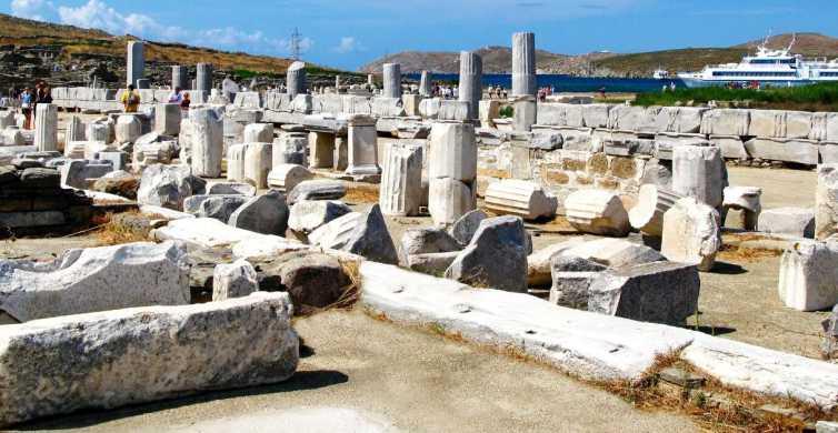 Da Mykonos: tour guidato di Delo