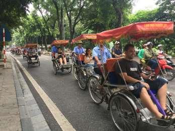 Hanoi: 1-stündige Altstadt-Tour mit der Cyclo-Rikscha