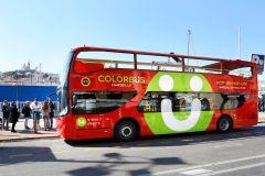 Colorbus: passeio panorâmico por Marselha em ônibus hop-on hop-off