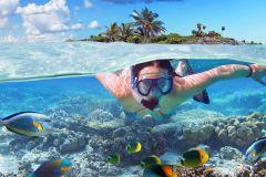 Punta Cana: Cruzeiro de Catamarã e Mergulho c/ Snorkel