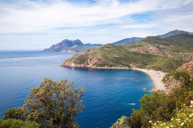 Korsika: Calanche de Piana 1,5-stündige Bootsrundfahrt