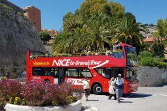 Nice: Ônibus Hop-On Hop-Off de 1 ou 2 Dias