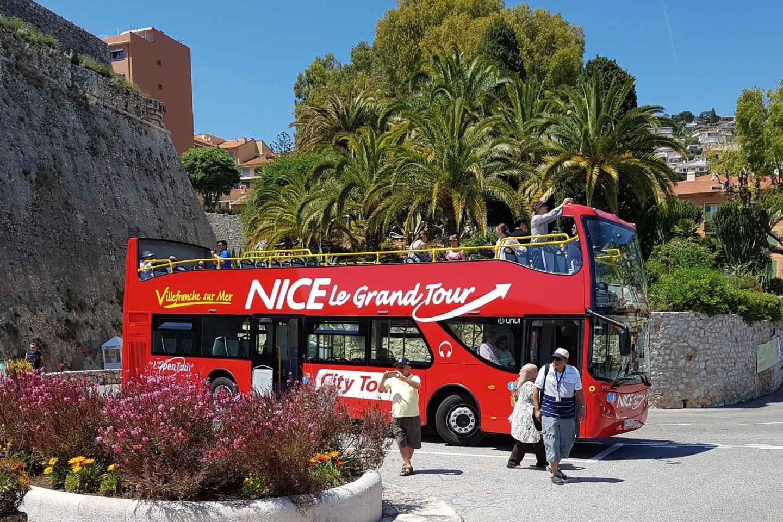 Nizza: 1 oder 2 Tage Hop-On/Hop-Off-Bustour