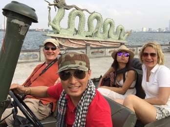 West Lake & French Quarter: Private Spaß Jeep Drive