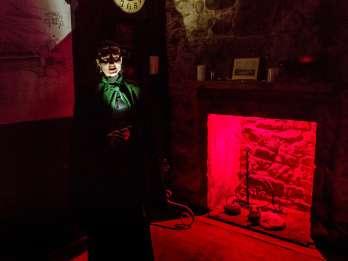 Edinburgh: Unterirdische Geistertour am Abend