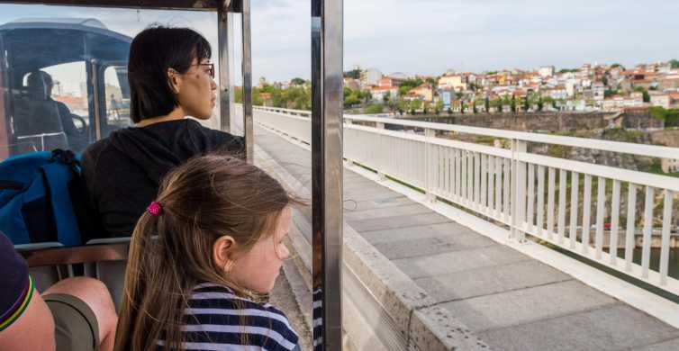 Porto: Magic Train Tour and Port Wine Tastings