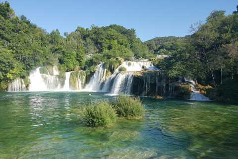 Depuis Split ou Trogir: visite économique du parc de Krka