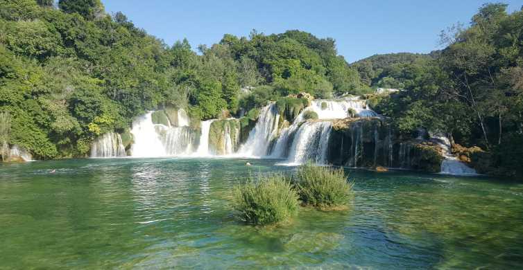 Ab Split oder Trogir: Tagestour zum Nationalpark Krka