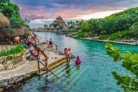 Tagesticket: Xcaret-Wasservergnügungspark