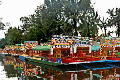 Xochimilco 5–Hour Boat Ride and University Tour