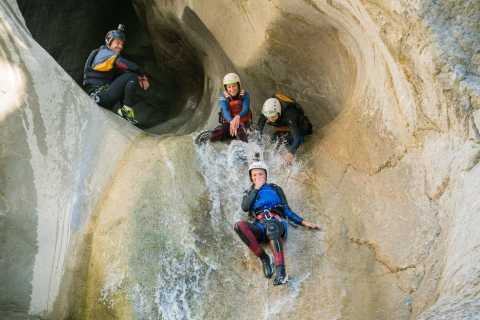 Canyoning on the Chli Schliere
