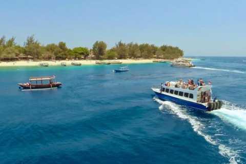 Schnellboot-Transfer zwischen Bali und Gili Air