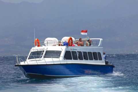 Schnellboot-Transfer zwischen Bali und Lombok