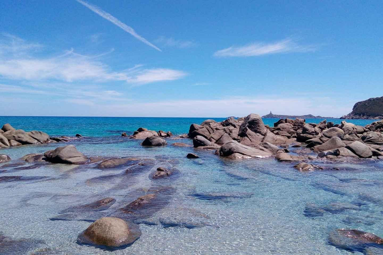 Ab Cagliari: Ganztägige Tour zu den Stränden von Villasimius