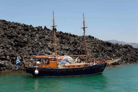 Santorini Volcano and Thirassia Islands Tour