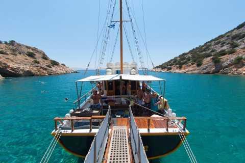 Naxos: croisière d'une journée au sud de l'île
