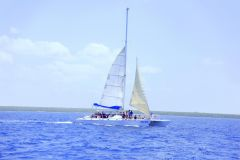 Ilha Saona e Altos de Chavrón Excursão 1 Dia All Inclusive