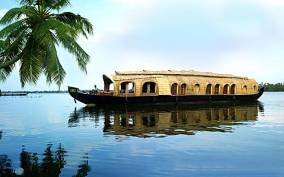 From Cochin Port: Backwaters by Houseboat
