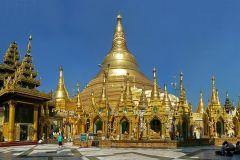 Excursão da cidade de Yangon a meio dia