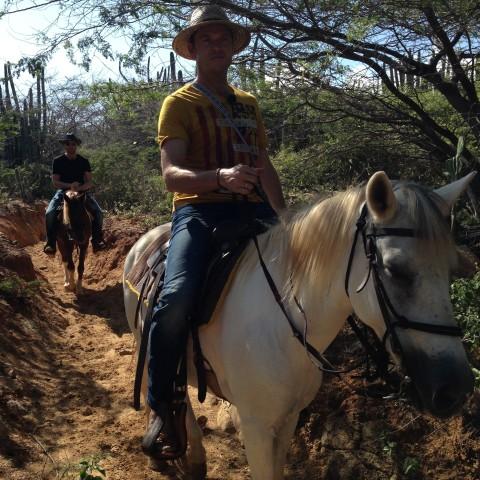 Aruba: 1.5-Hour Horseback Riding Tour to Urirama Cove