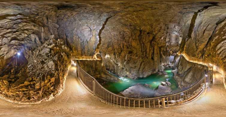 Lipica Stud Farm & Škocjan Caves from Koper