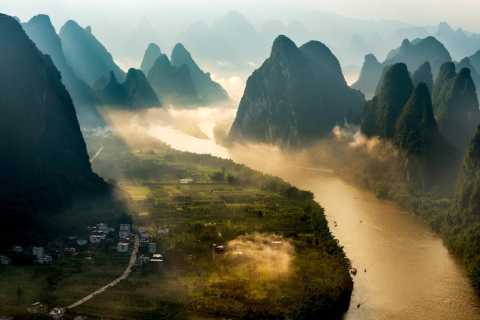 Yangshuo: Overnight Sunrise Photo Tour