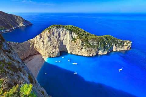 Navagio Shipwreck Beach and Blue Caves Full-Day Tour