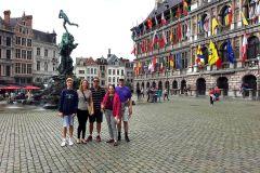 Antuérpia Histórica: Excursão a Pé de 2 Horas e Meia