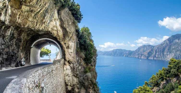 De Nápoles: Tour de 1 Dia em Sorrento, Positano e Amalfi