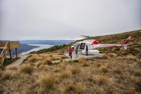 Van Te Anau: Full Day Kepler Track Guided Heli-Hike