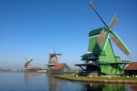 Ámsterdam: crucero de medio día con cena en el molino de viento de Zaan