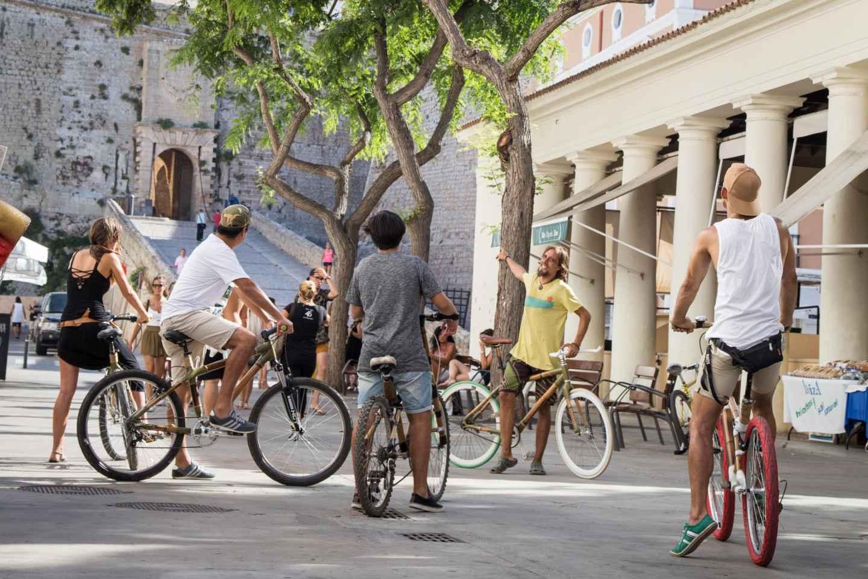 Ibiza: Private Sightseeing-Tour per Fahrrad