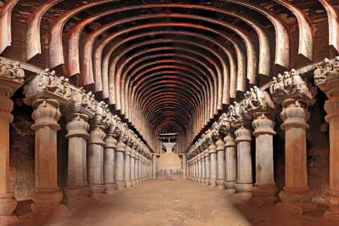 Mumbai: Karla and Bhaja Caves Full–Day Tour