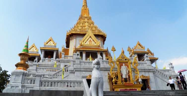 Private Tour: Wat Pho, Wat Traimit and Wat Benchamabophit