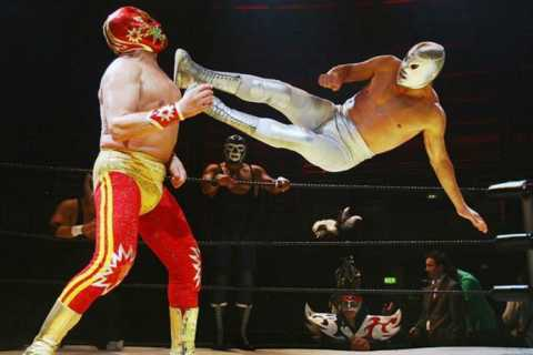 Cidade do México: Lucha Libre Wrestling Tour