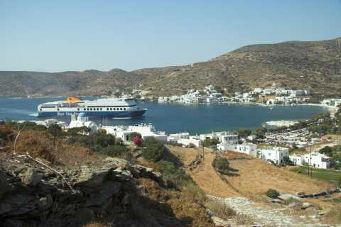 Day Trip by Boat to Amorgos Island from Naxos