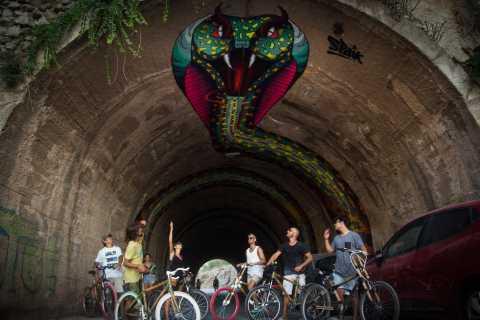 Ibiza: alternatieve privé-fietstour langs street art