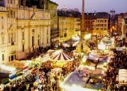 Rom: 3-stündiger halbprivater Weihnachtsrundgang